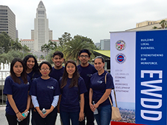 Hire LA's Youth Participants at the Kick Off