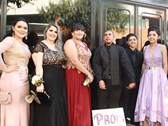 Graduating Class of Five Keys Charter in Boyle Heights Goes to Prom