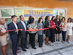 Boyle Heights Tech Academy August 2016 Ribbon Cutting Ceremony