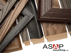 ASAP Moulding, a Canoga Park distributor of American made, hardwood picture frame moulding