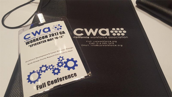 California Workforce Association WorkCon 2017