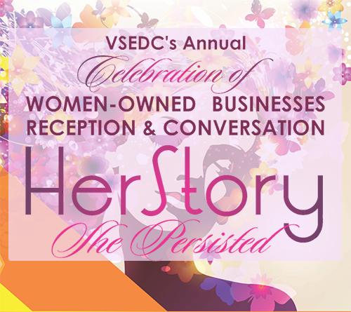 Headline flyer from HerStory 2017 Event