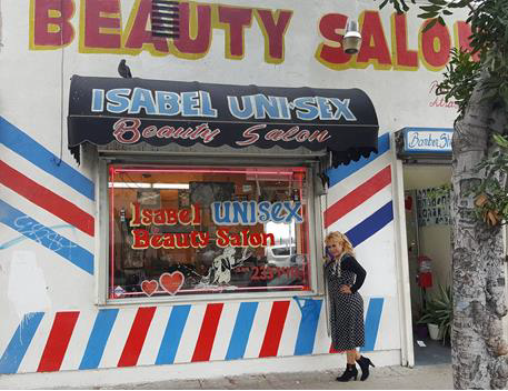Isabel Beauty Salon in South Los Angeles