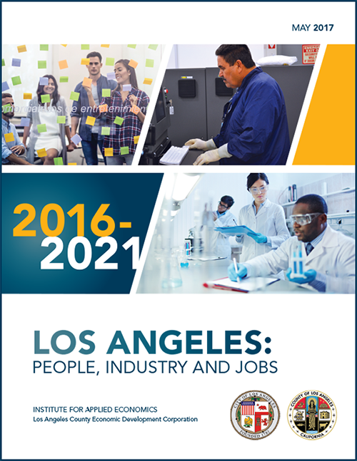 LAEDC LA People, Industry and Jobs 2016-2021 Report Cover