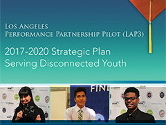 LAP3 2017-20 Strategic Plan Serving Disconnected Youth Report Cover