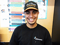 Pablo Azurdie, a Vernon-Central Network YouthSource Program Success Story