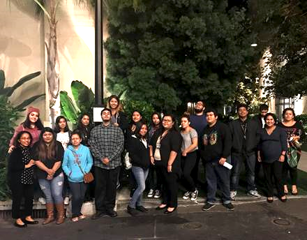 "Para Los Niños Youth attend special screening of ""Icebox"", a dramatic short film about a Honduran boy caught in the US immigration process"