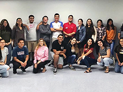 Para Los Niños YouthSource Center gathered former students to launch the PLN Alumni Network on July 31, 2017