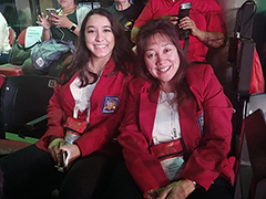 The Sun Valley WorkSource Center provided funding for Amanda Goldberg (left) to become an EMT. Amanda, pictured with mother Ellen Vogel (right) recently won a gold medal at the SkillsUSA First Aid/CPR contest