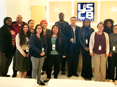 The Hollywood WorkSource Center placed 26 job seekers at full-time jobs at UCSB America in downtown Los Angeles