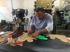The Harbor-Watts BSC helped Cobbler Jose Rivera obtain a $3,500 loan for his business, Paul's Original Shoe and Working Boot Manufacturing, which he purchased from the owner