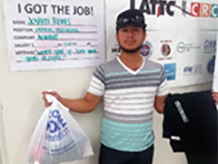 Vernon-Central/LATTC WSC is helping Jovani continue his education and become a promising member of LA's workforce