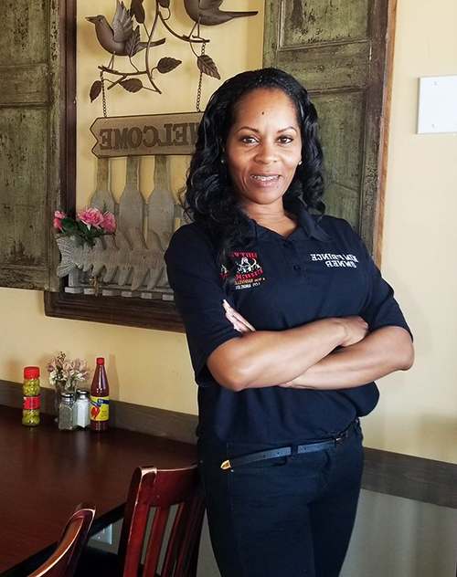 "Kimberly Prince, owner of Hotville Chicken & Chops, the West Coast arm of her family's Nashville-Style ""hot chicken"" restaurant business"