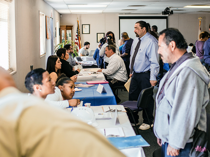 The Hollywood WorkSource Center held its first Re-Entry Job and Resource Fair on March 28, 2018