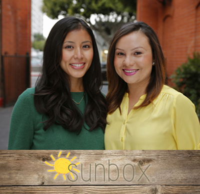 Sunbox Founders Vanessa Ballesteros and Elisa Gomez obtained a $149,500 loan to expand their business with help from the Harbor BusinessSource