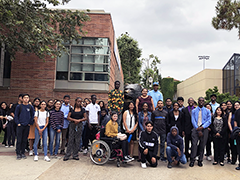50 Hire LA's Youth internship participants begin their summer job at the UCLA (University of California, Los Angeles) campus