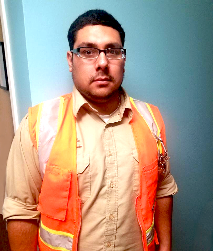 Christopher, an LA:RISE participant, gained marketable experience with the LA Conservation Corps