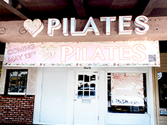 Fit Culture Pilates (exterior studio front) in San Pedro, California
