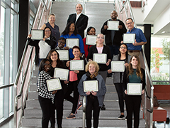 The March 23, 2019 LAVC HR Assistant Academy gradutates