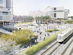 Artist rendering of the Creshaw Crossing Mixed-Use Project interior, courtesy of RELM Studios (http://relmstudio.com/work/crenshaw-crossing)