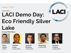 Zoom screenshot of Eco Friendly Silver Lake, a LACI APC project