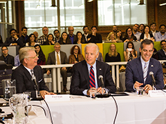 VP Joe Biden Lauds Work of Los Angeles CleanTech Incubator