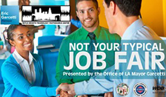 Not Your Typical Job Fair at the Boyle Heights Technology YouthSource Center