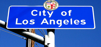 City of Los Angeles Street Sign