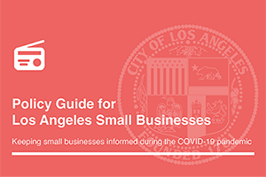 Policy Guide for Los Angeles Small Businesses