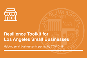 Los Angeles City Small Business Toolkit
