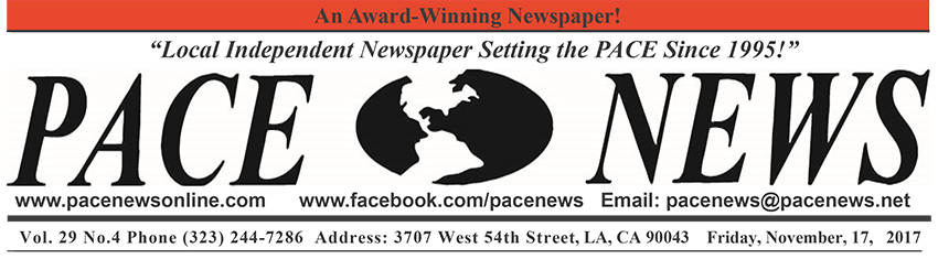 Pace Newspaper Header for Volume 29, Number 4