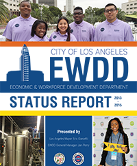 2016 EWDD Status report cover page