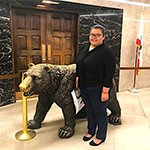 P3 Ambassador Destiny Nguyen in the State Capital