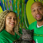Andrea Carter and Terryl Daluz inside their Lakeview Terrace pet grooming business, Wash My Dog