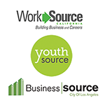 WorkSource, YouthSource and BusinessSource logos