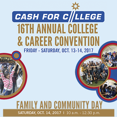 2017 Cash for College Convention October 13-14